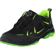 Superfit Jupiter Black/yellow, Skor, Sneakers och Träningsskor, Walkingskor, Svart, Unisex, 34