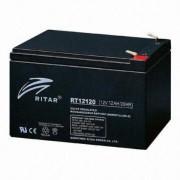 RT12120 12V 12 Ah Zárt ólomzselés akkumukátor (RITAR)