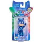 Figurina cu articulatii Pisoi-NEW Eroi in Pijama Inaltime 8 cm Albastru