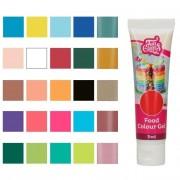 Cake Supplies Colorante concentrado en gel de colores de 30 g - FunCakes - Color Rojo amapola