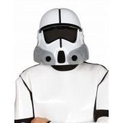Vegaoo Ruimte soldaten helm voor volwassenen One Size