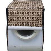 Dreamcare Printed Coloured Waterproof & Dustproof Washing Machine Cover For Front Load Samsung WF602U0BHSD 6 Kg Washing Machine