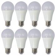 Set 8 Becuri LED Drimus 12W E27 Lumina Rece DL 6121