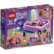 Конструктор Лего Френдс Кутии с форма на сърце - пакет за приятелство, LEGO Friends 41359