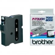 Brother Märkband Brother TX241, svart/vit, 18mm