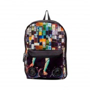 Mojo Mochila All About The Bass Bocinas Backpack Polyester