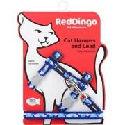 Red-dingo Postroj RD cat s vodítkem CAMOUFLAGE - PINK