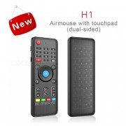 H1 completo Touchpad 2.4GHz 6-Axis Gyro Air Mouse teclado inalambrico