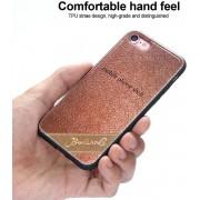 Telefoonhoesje.nl iPhone 8, Leather coated gel hoesje, Coffee - Geschikt voor: Apple iPhone 8