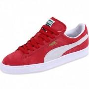 Chaussures Rouge Suède Classic Garçon/Homme Puma