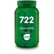 722 Lijnzaadolie 1000 mg - 90 Capsules AOV