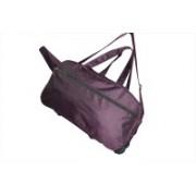 One Up (Expandable) Expandable Waterproof Purple Trolley Bag Travel Duffel Bag(Purple)