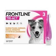 Tri-act para cães dos 5 aos 10kg 3pipetas - Frontline