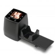 5MP Film Scanner - 2,4 pouces d affichage, TV Out, soutien 32GB SD Card, Aperçu, lecture et d édition