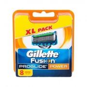 Gillette Fusion Proglide Power lama di ricambio 8 pz uomo