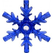 Power Miners LEGO Frozen Items Large Snowflake [Trans Purple Loose]