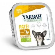 Yarrah Biologisch hondenvoer pate met kip 150g