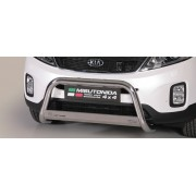 MEDIUM BAR INOX 63 KIA SORENTO 2012- CE accessoires 4x4 MISUTONIDA