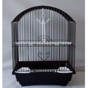 Max 100 Klec černá pro ptáky na papoušky 290 x 220 x 370 mm
