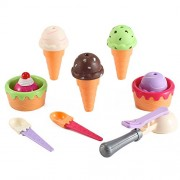 Sweet Treats Ice Cream Parlor Fast Food Play Set Toy for Kids