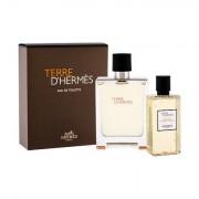 Hermes Terre D´Hermès confezione regalo eau de toilette 100 ml + doccia gel 80 ml uomo