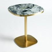 Bistro tafel in marmer Ø60 cm, Lixfeld