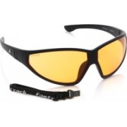 Fastrack Round Sunglasses(Yellow)