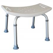 Badstol/badbänk med böjt säte och handtag