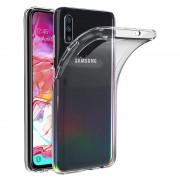 Capa de silicone transparente Samsung Galaxy A70