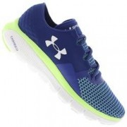 Under Armour Tênis Under Armour Speedform Fortis - Feminino - AZUL ESC/VERDE CLA