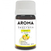 Aroma Seacrets Lemon Pure Aromatherapy Essential Oil - Nourishes and Rejuvenate Skin (30ml)