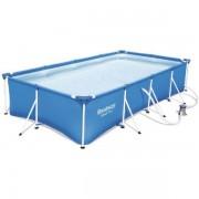 Bestway Familjepool - Steel Pro pool 5.700L 400x211x81 cm - Bestway familjepool 56424