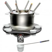 Set fondue electric Unold, 1000W, Inox/Negru
