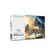 Microsoft Xbox One S Consola de 500GB + Juego Assassin's Creed Origins Bundle Edition