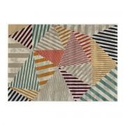 Alfombra multicolor 160 x 230 cm TRIANGLE - Miliboo