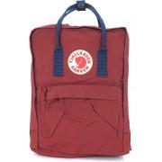 Fjällräven Kånken By Fjällräven Red And Blue Backpack Red