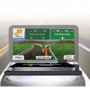 Universele auto GPS HUD head-up display houder / mobiele telefoon navigatie beugel, voor iPhone, Galaxy, Huawei, Xiaomi, Lenovo, Sony, LG, HTC en andere smartphones (zwart)