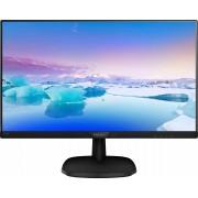 Philips 243V7QDSB/00 LED-Monitor (1920 x 1080 Pixel, Full HD, 5 ms Reaktionszeit, 60 Hz), Energieeffizienzklasse A