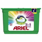 Ariel Detergent Capsule 3in1 PODS 15 buc Color