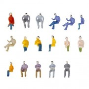 About 100 Bodies Set Doll Person People Human Human Figure Painting People Scene Collection The Model Railroad, Dioramas, Architectural Models, Trains 14mm In Model Scale 1: 100