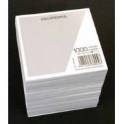 Rezerva cub hartie alba 9x9x9cm AURORA