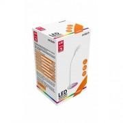 Asztali LED lámpa RGB hangulat világítással fehér 4W