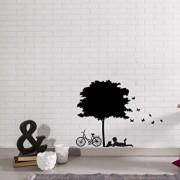 Sticker decorativ de perete Sticky, 260CKY5018, Negru