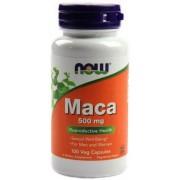 Now Maca 500 mg 100 veg caps