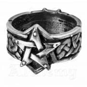 prsten Celtic Teurgiju-Ring ALCHEMY GOTHIC - R50