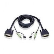 Aten 2L-7D02V DVI-D KVM aansluitkabel 1,8m