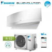 Daikin Climatizzatore Condizionatore Daikin Inverter Emura White Wi-Fi Ftxj50mw R-32 Bluevolution A++ 18000 Btu