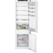 Siemens KI87SAF30G Static Integrated Fridge Freezer - White
