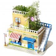 Juguete 3D Puzzle de dibujos animados - Serie de plantas dulce hogar