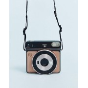 Fujifilm Instax Square SQ6 instant camera in blush gold-Multi